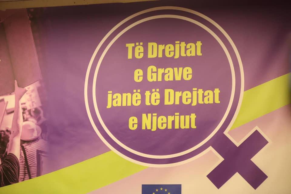 """Paneli i parë i Konferencës Kombëtare """"Të Drejtat e Grave janë të Drejtat e Njeriut""""."""
