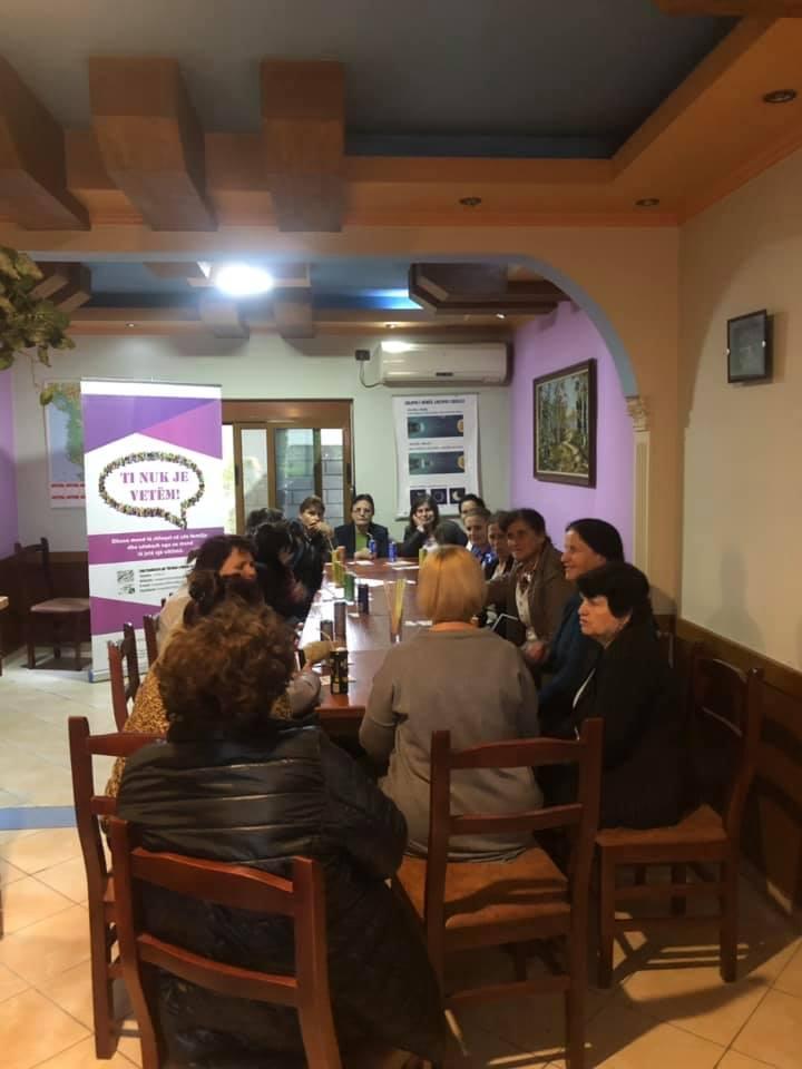 Takim ndërgjegjësues me gratë e komunitetit të Bathores