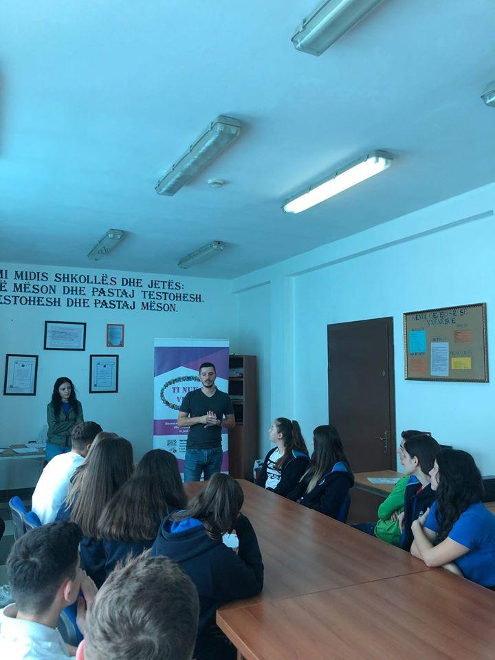 """Workshop në gjimnazin """"Abdulla Keta"""""""